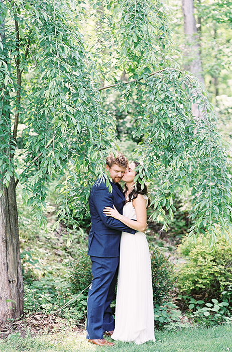 Ridley Creek State Park Ceremony  |  Nadia + Eric